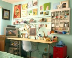 Busy small space