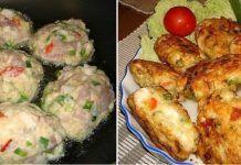 Вкусные и полезные куриные котлеты с овощами и сыром!
