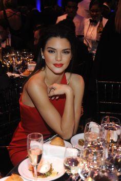 gorgeous Kendall Jenner at the amfAr Gala New York 2015
