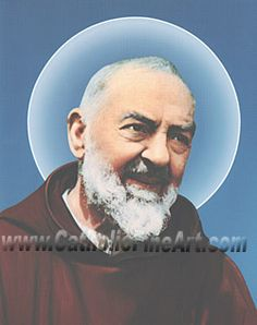Saint Padre Pio art print