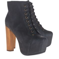 JEFFREY CAMPBELL Lita Suede Black Brown Plateau ankle boots (1.365 ARS) ❤ liked on Polyvore featuring shoes, boots, ankle booties, heels, sapatos, black platform booties, black suede ankle booties, brown ankle boots, suede ankle boots and black booties