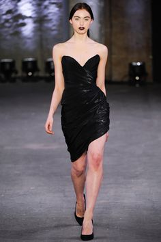 Christian Siriano Fall 2012 Ready-to-Wear Collection Slideshow on Style.com