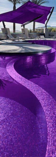 Purple pool