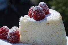 Angel food cake (norwegian recipe)  Note:  my Grandma made the best Angel Food Cake