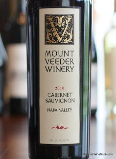 Mount Veeder Winery Napa Valley Cabernet Sauvignon 2010 - Better Buy Two. You'll thank me as soon as you finish the first one. http://www.reversewinesnob.com/2013/08/mount-veeder-winery-napa-valley-cabernet-sauvignon.html