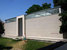 Austrian Pavilion for the Venice Biennale, Josef Hoffmann, Venice.