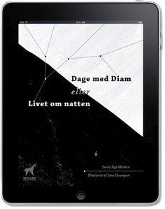 Dage med Diam /Days with Diam framed in an iPad