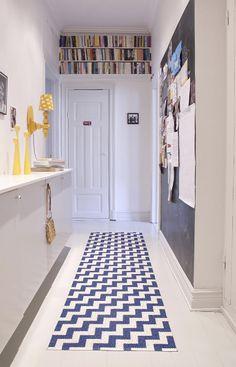 Het ideale vloerkleed / karpet in de hal, badkamer en keuken van Brita Sweden! #praktisch #hygienisch #BritaSweden