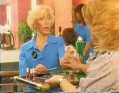 """¤ """"You know you're soaking in it """" Robina Beard as Madge appeared in our lounge rooms daily 1968 ~ 1988, Palmolive Dish Washing Liquid became a trusted brand.¤"""