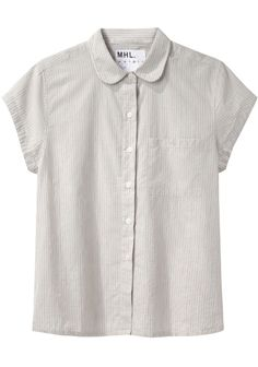 MHL by Margaret Howell / Round Collar Shirt
