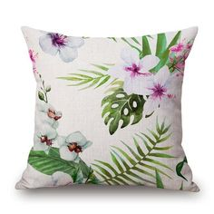 Tropical Green Pillow Cases