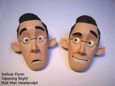 Joshua Flynn: Puppet Head Sculpt- Mail Man Part IV