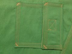 Coverstitching tips including corners and pockets Serger Projects, Baby Sewing Projects, Sewing Hacks, Sewing Tutorials, Sewing Crafts, Sewing Tips, Serger Sewing, Sewing Stitches, Sewing Patterns