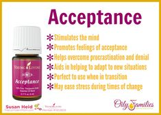 Young Living Acceptance - great emotional oil blend.  |  TheConfidentMom.com