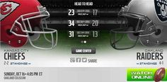Chiefs vs Raiders live, stream, watch, game, nfl, football, online. Kansas City Chiefs game, live, stream, online. watch, Kansas City Chiefs vs Oakland Raiders, live, stream, game, nfl, football, online  http://chiefsvsraiderslive.us