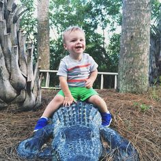 See you later, alligator.  cute