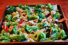 Freezer meal: Stir fry from super healthy kids