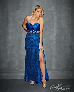 Night Moves by Allure: Plus Sized Prom Dress Style 7134W now in stock at Bri'Zan Couture, www.brizancouture.com