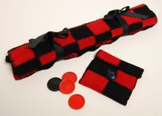Schacht Spindle Blog: Checkerboard and Bag: A Zoom Loom Project