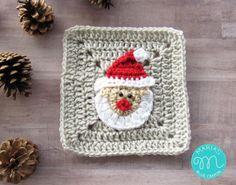 WEEK 1 - Christmas Granny Afghan CAL - Santa Claus | Maria's Blue Crayon | Bloglovin'