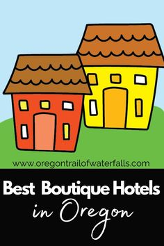 These are the best boutique hotels in Oregon for your next stay. We also have B&Bs and inns too. Oregon Map, Oregon City, Oregon Travel, Oregon Trail Game Online, Best Bed And Breakfast, Oregon Wine Country, Oregon Vacation, Oregon Waterfalls, Country Hotel