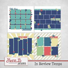 In Review 1 Templates by FranB Designs - https://www.plaindigitalwrapper.com/shoppe/product.php?productid=12254