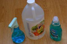 How to Kill Fleas With Dawn & Vinegar