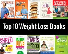Get inspired to continue on your weight loss journey with one of these top weight loss books! Diet Plans To Lose Weight, Weight Loss Plans, How To Lose Weight Fast, Losing Weight, Fast Weight Loss, Weight Loss Journey, Weight Loss Tips, Fat Fast, Loose Weight