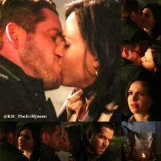 regina and robin hood kiss - Google Search