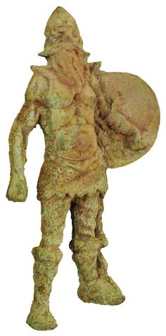 Authentic ancient  Viking statue 700 - 1000 AD