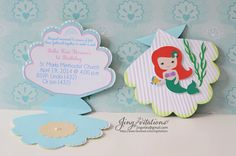 the little mermaid birthday party invitations cricut | Princess Little Mermaid Invitations