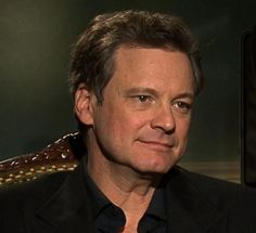 Colin Firth in an interview about Tinker Tailor Soldier Spy