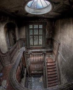 Abandoned Manor house in London, England