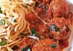 Photo Hungarian Recipes, Cheddar, Spaghetti, Yummy Food, Beef, Ethnic Recipes, Meat, Cheddar Cheese, Delicious Food