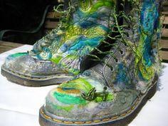 An amazing felting artist's blog