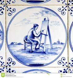 Delft Blue Holland | delft blue tiles