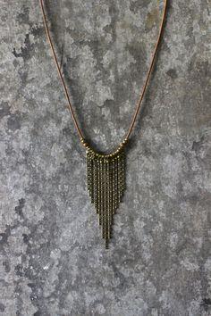 SALE Boho necklace tribal necklace bohemian by AnankeJewelry