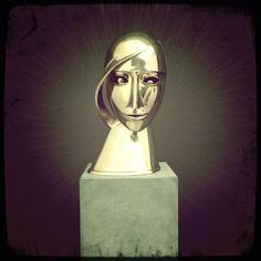 Futuristic Sculpture lehnbachhaus Futuristic, Cool Art, Darth Vader, Sculpture, Fictional Characters, Sculptures, Sculpting, Fantasy Characters, Statue