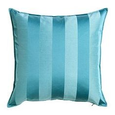 Ikea Henrika Turquoise Blue-green X Throw Pillow Cushion Cover Music Studio Decor, Ikea Portugal, Throw Pillow Covers, Throw Pillows, Cushion Covers Online, Double Rod Curtains, Dark Carpet, New Living Room, Pillows