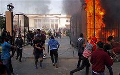 Egypt unrest over Port Said football riots sentences