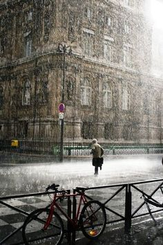 Rainy Day, Paris, Fr
