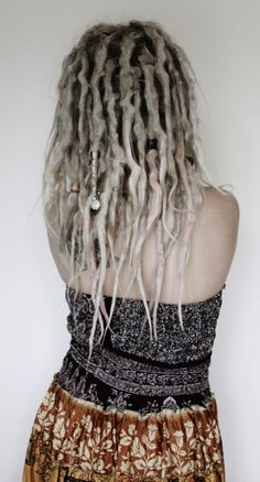 Amazing dreads. So natural and gorgeous