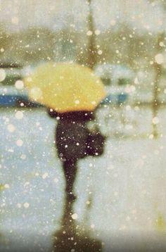 rain & the yellow umbrella Yellow Umbrella, Rain Umbrella, Under My Umbrella, Walking In The Rain, Singing In The Rain, I Love Rain, Rain Go Away, Rain Drops, Mellow Yellow