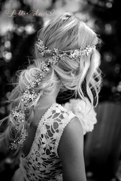 Extra Long Gold Hair Vine Wedding Headpiece Bridal Hair
