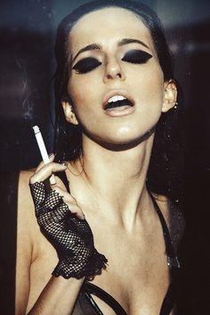 "kennysweeney:  ""Instigator"" - Editorial Model Amanda Pizziconi Makeup Chrisspy www.kennysweeney.com"