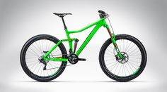 Cube Stereo 160 Super HPC SL 27.5 green´n´orange 2015