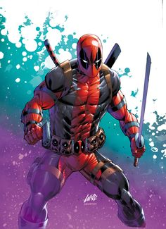 SPIDERMAN DEADPOOL 3 RARE ROB LIEFELD FAN EXPO VARIANT