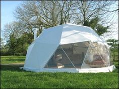 So cool! We love these geodesic domes in Pwllheli on the Lleyn Peninsula of Wales - perfect for a romantic retreat!