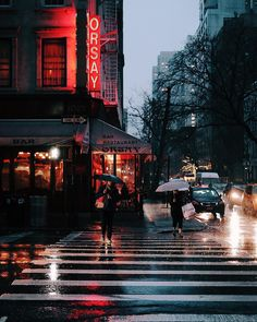Instead of snow,we're having some December rain. But it still looks pretty in pictures like this.