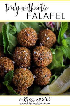 Truly Authentic Falafel Recipe || We discovered the secret to authentic and fluffy falafel. || Mediterranean food || dinner ideas || weeknight meals || gluten free meal || easy falafel recipe || #thismessisours #glutenfree #vegan